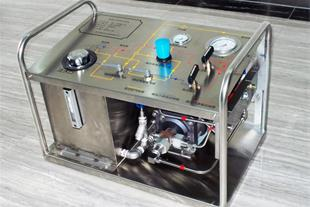 تست پمپ بادی - پمپ هیدرواستاتیک - تست پمپ فشار قوی