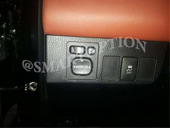 فروش آینه تاشو برقی تویوتا راوفور RAV4 کلید فابریک - 1