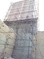 اجرای داربست نما ، زیرسقف ، داربست فلزی برج سازان