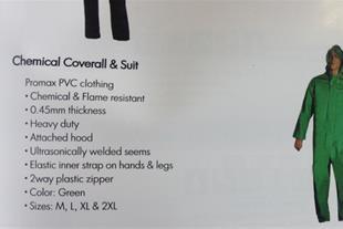 لباس یکسره ضد اسید و ضد مواد شیمیایی پرومکس