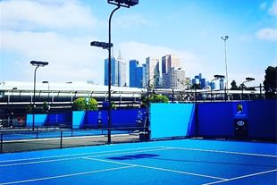 آموزش تنیس خاکی برای بانوان