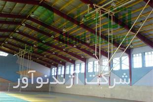 حلقه بسکتبال سقفی تاشو ریموت دار آژندنوآور