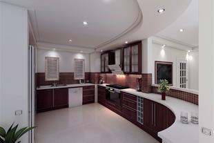 طراحی و نصب بروز ترین کابینت وصفحه کرین