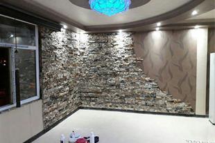سقف کاذب کناف وسنگ انتیک