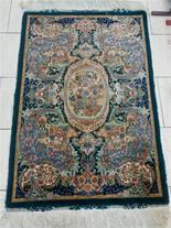 فروش فرش چله ابریشم گل ابریشم
