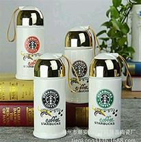 فلاسک ماگ سرامیکی Starbucks