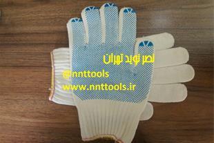 دستکش ممتاز کاموایی خالدار (ریز)