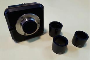 CCD میکروسکوپ ، چشمی میکروسکوپ ، ریلی لنز