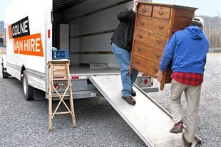 حمل و نقل اثاثیه منزل دایی