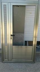 درب دو جداره آلومینیوم ترمال بریک در اهواز - 1