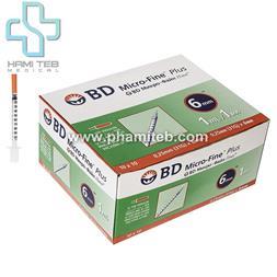 سرنگ انسولین BD - 1