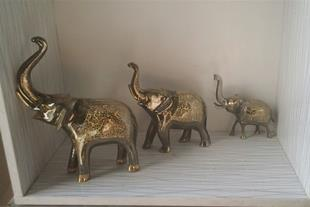 فروش ست فیل برنجی