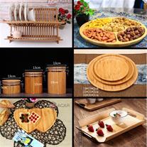 مرکز فروش ظروف چوبی بامبو