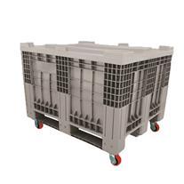 باکس پالت صنعتی - پالت بزرگ با قابلیت نصب چرخ و در