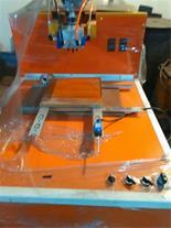 دستگاه نیمه اتومات تولید فیلتر هوا قابل ارتقا