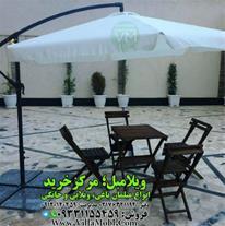 چتر پایه کنار قطر سه متر