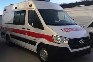 آمبولانس جدید ایران فروش آمبولانس هیوندا h350 دیزل