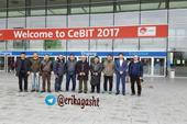 تورنمایشگاه سبیت CeBIT 2018 اریکا گشت مجری مستقیم