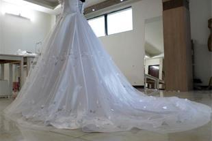 دوخت لباس عروس و مجلسی