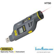 دیتالاگر دما و رطوبت و ترومتر لیزری 250 درجه HT50