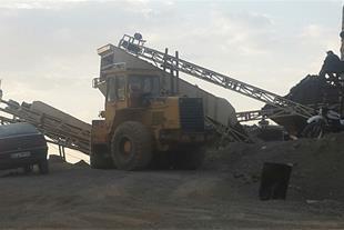 فروش معدن و کارخانه شن و ماسه کوهی فعال