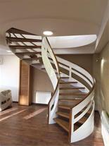 طراحی و اجرای انواع پله گرد