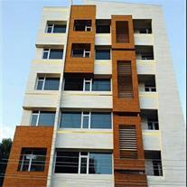 نمای چوب ساختمان