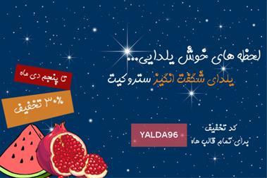 تخفیف طراحی سایت ویژه شب یلدا - 1