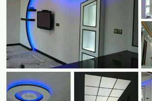 اجرای انواع سقف های سرویس های حمام و دستشویی