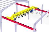 ساخت و تامین قطعات جرثقیل سقفی