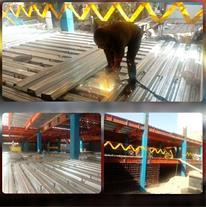طراحی و اجرای سقف عرشه فولادی