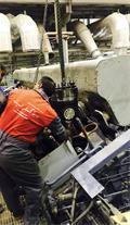 تعمیر و فروش قطعات موتور های دیزل دریایی و ریلی