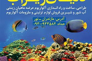 فروشگاه آکواریوم دنیای زیر آب