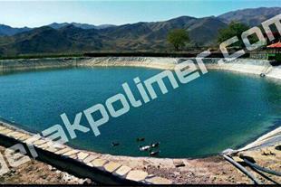 کشاورزی با استخرهای ذخیره آب با ورق ژئوممبران HDPE