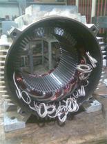 سیم پیچی انواع الکتروموتورها و ژنراتور های صنعتی
