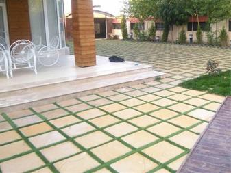 تولید سنگ فرش بتنی ،کفپوش پیاده رو،موزاییک واش بتن - 1