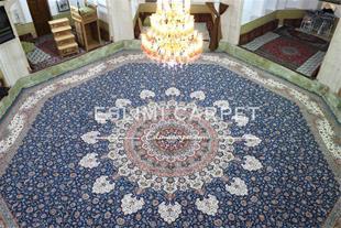 فرش 8ضلعی حسینیه نوآباد نائین