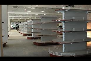 قفسه های فروشگاهی فروشگاههای زنجیره ای و سوپر
