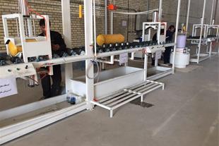 تولید دستگاههای تست مخزن هیدرو استاتیک