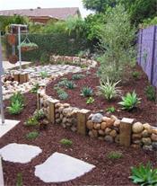 باغ سازی پلکانی در زمین های شیبدار
