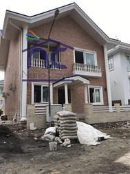 عایق نانویی شفاف روی نمای سنگی و آجری ساختمان - 1