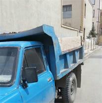 حمل خاک و نخاله های ساختمانی در تمام سطح شهر مشهد