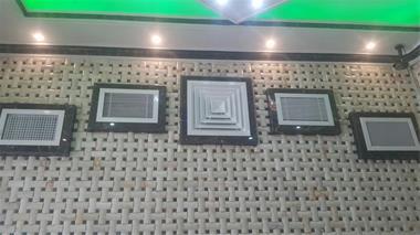 ساخت و نصب دریچه تنظیم هوا - 1