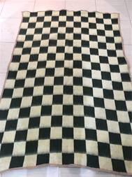 پتو نمدی ومینک شطرنجی شاندیز - 1