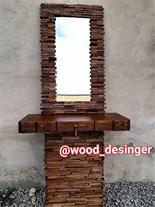 تولید و پخش صنایع دستی چوبی