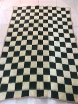 پتو نمدی ومینک شطرنجی شاندیز