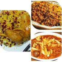 تهیه انواع غذاهای خانگی با کیفیت بالا و قیمت مناسب