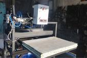 دستگاه چاپ روی لباس چهل در چهل پنوماتیک تک صفحه