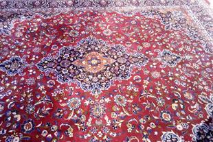 فرش دستباف 12 متری کاشمر رنگ گیاهی اعلا