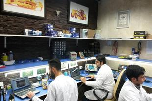 مرکزتخصصی تعمیر کامپیوتر(ایسیو) ماشین آلات راهسازی